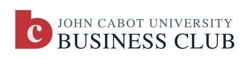 Business Club Website JCU